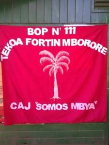 Bandera del CAJ del BOP 111
