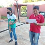 Milicio y el profesor Diego